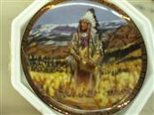 AMERICAN INDIAN HERITAGE Collectible Plate/Figurine PLATE
